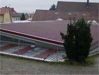Hallendach in Conweiler
