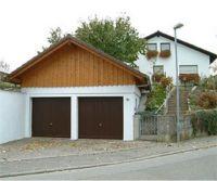 Flachdach-Aufsattelung Garage